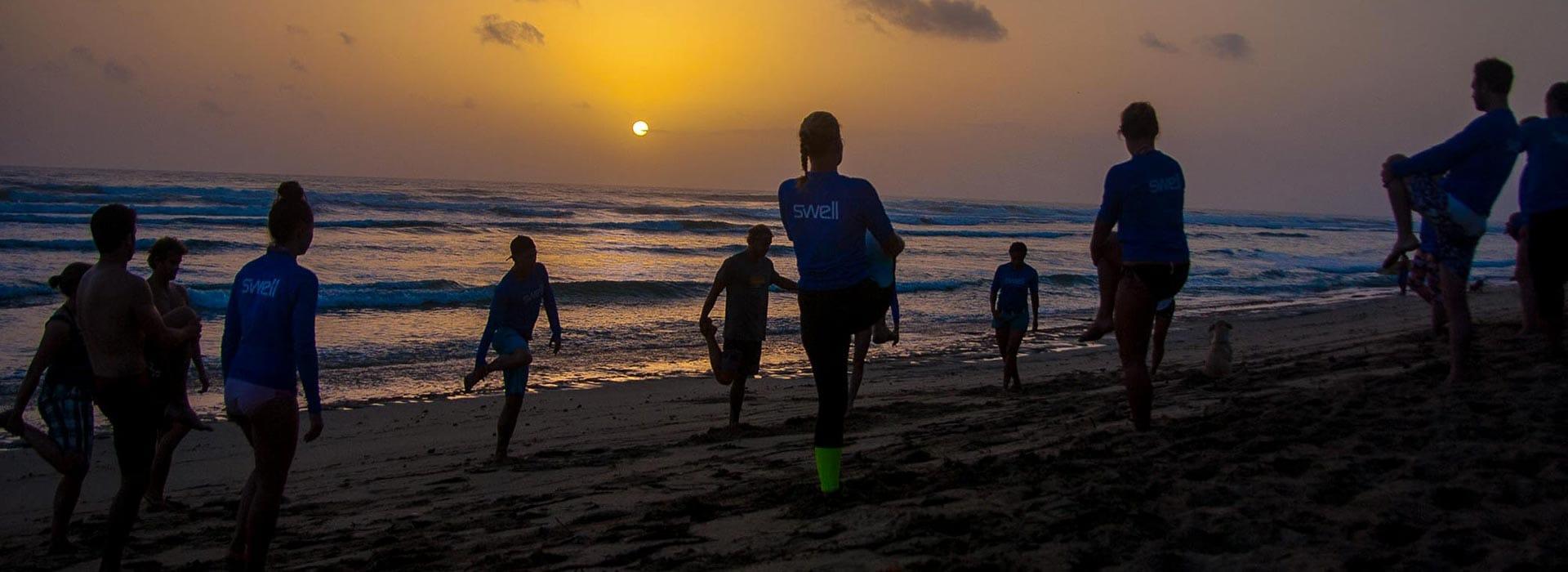 morning surf school