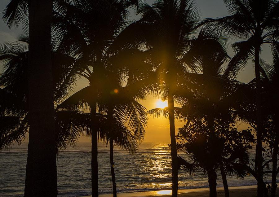 Kitebeach Cabarete sunset