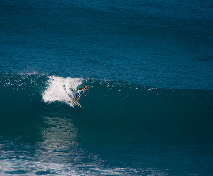Catch good waves on the north coast