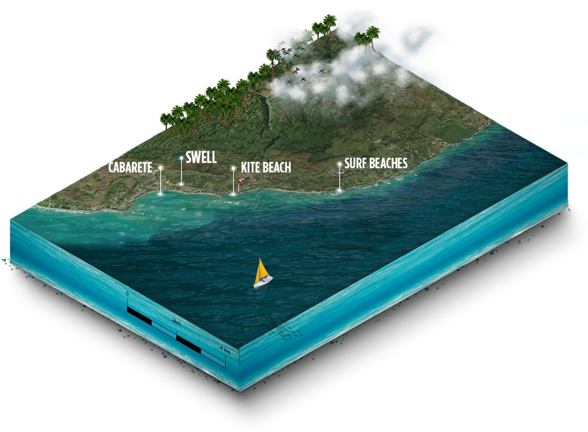 swell surf camp locationmap isometric