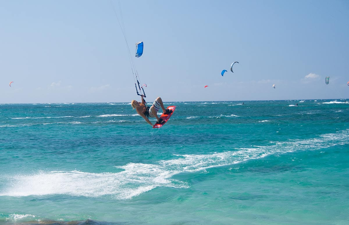 KITESURFING DOMINICAN REPUBLIC