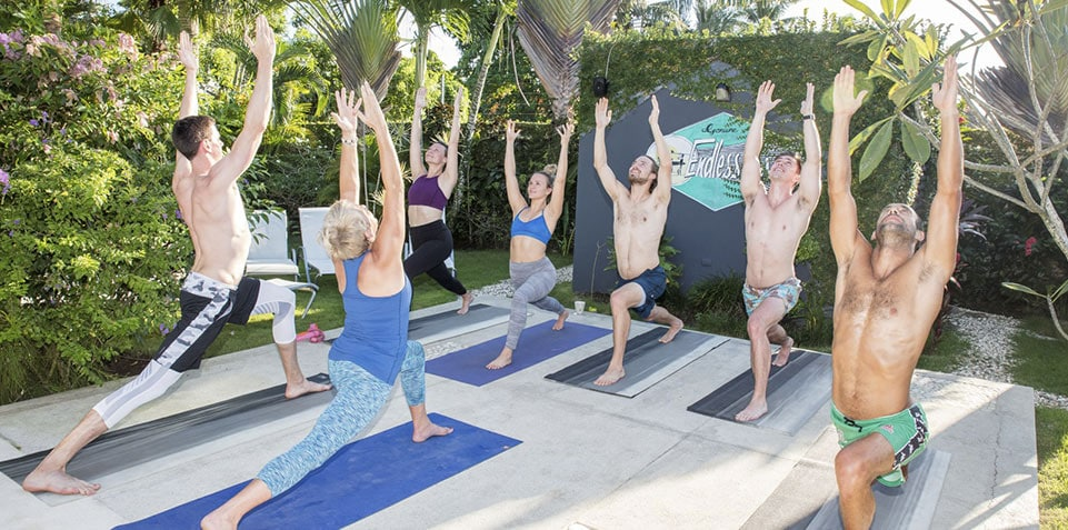 yoga surf holiday