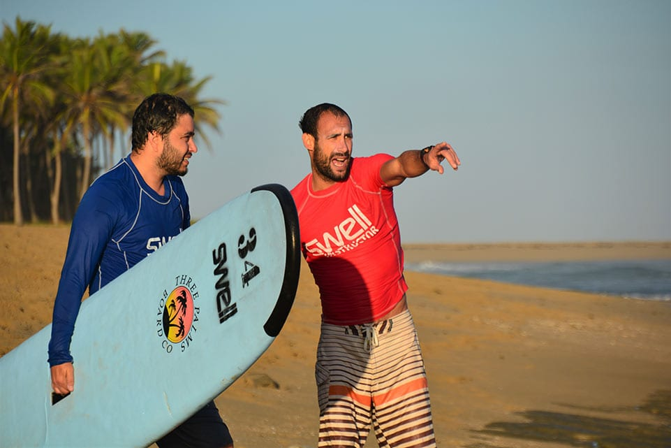 Ricci Swell Surf Instructor