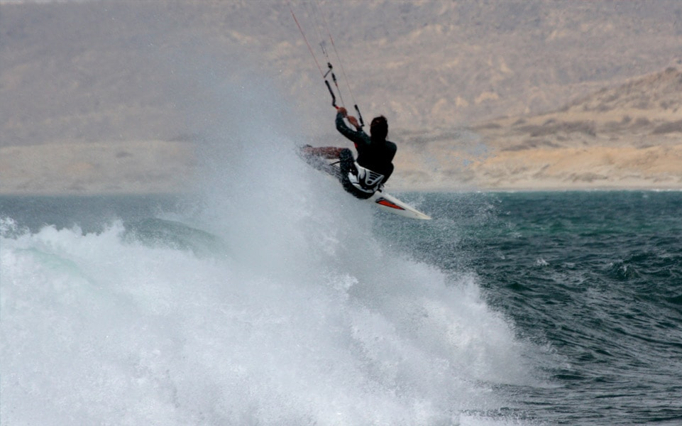 Kitesurfer @ Lobitos