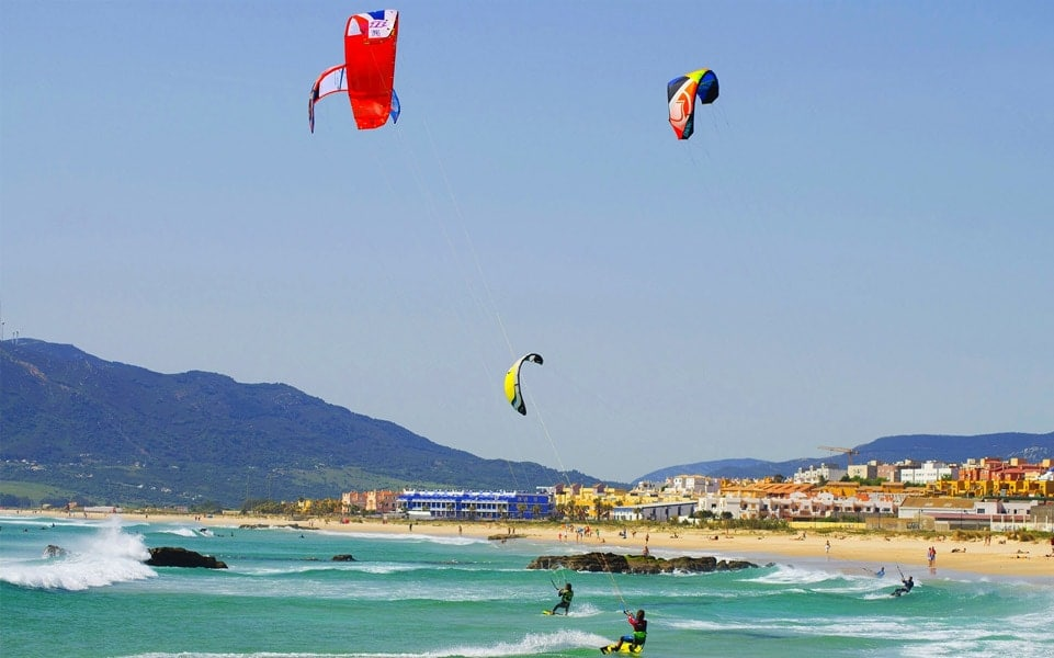 Tarifa as a kitesurf destination