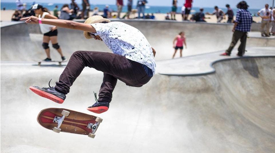 skateboard fitness