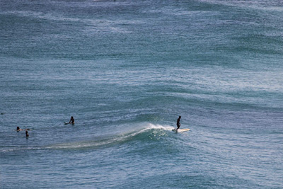 Surf line up