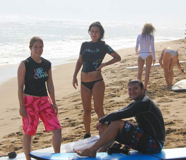 surfing shannon