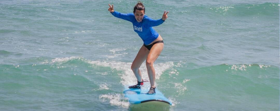 beginner surf level