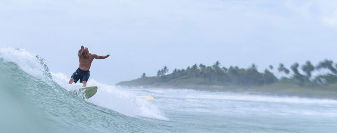 Intermediate surfer level
