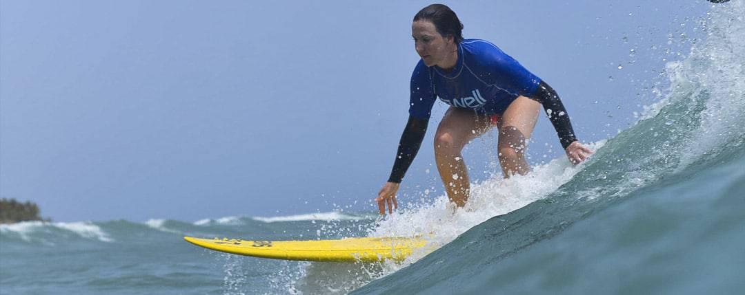 Progressive surf level
