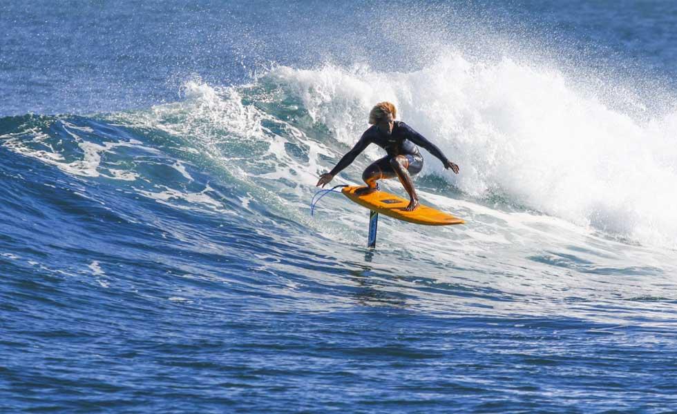 learn foil surfing